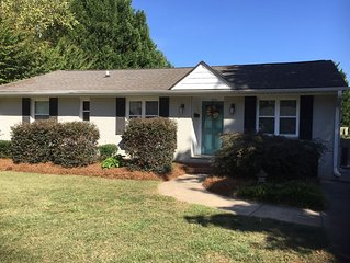 Walking distance to Reynolda House and Gardens. Close to Wake Forest University
