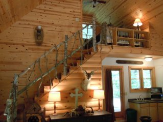 Awesome Cabin / $89/ngt w/WIFI, 4th nght FREE