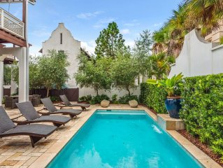 Amazing Renovation-Sophisticated Elegance-Pool-Courtyard-1 Minute Walk to Beach