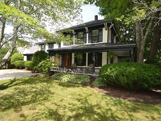 Beautiful, spacious, quiet in-town CAMDEN home with large private outdoor spaces