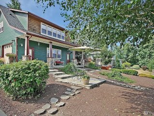 View cottage perched on 2 country acres/romantic/refreshing/relaxing/private