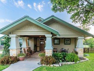 Agape Back Cottage sleeps 5 to 8, property sleeps up to 14 one block to main st.