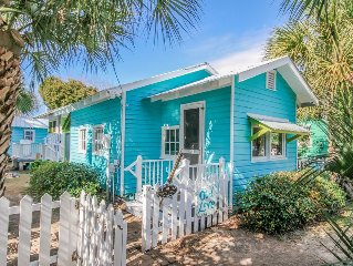 Old Love Cottage C1921! - Adorable Vintage Beach Cottage! Steps to the Beach!