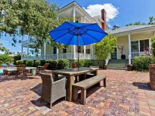 Luxury Living in Historic Home with Pool and Hot Tub with Ocean Views and Priva