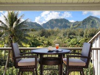 Hanalei Bay Resort #1537 & 1538: QUIET LOCATION IN THE HEART OF PRINCEVILLE & AC