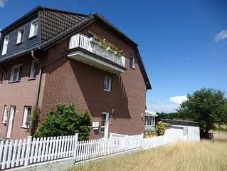 Bright, friendly 60 sqm apartment with balcony