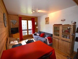 Appartement à Méribel-Mottaret  3 étoiles, skis aux pieds