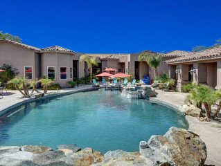 Luxury Estate, magnificent pool and spa, large cascade waterfall, 5000sq.ft Home