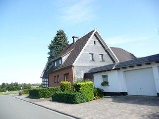 exclusive holiday home in Sauerland between Winterberg and Willingen and sauna