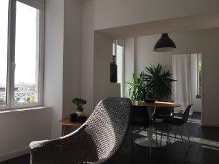 Appartement vue  sur le port au coeur de Granville