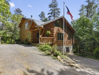 Timber Hollow:2 master suites on a bison ranch!