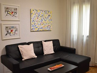 Modern apartment in Calle Alcala // large living room, 2 bedrooms and WIFI