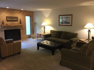 Four Seasons of Fun at Spacious Harbor Springs Condo