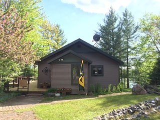 Snowmobilers welcome! Enjoy the Sauna!  3 bedrooms, 1.5 bathrooms
