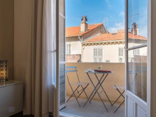 The heart of Cannes ! Ideal location, 53 m2, great retreat.