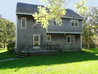 Airy, Quiet Vacation Rental Home, pool, tennis, FERRY TIX on MV