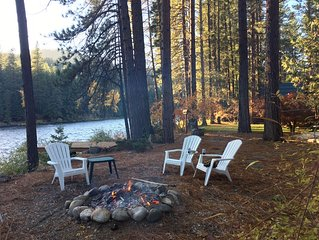 River's Edge Cabin On The Wenatchee River-Great Recreation Area Near Leavenworth