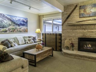 Location Location Location! Views of Aspen Mountain. Walk to everything.
