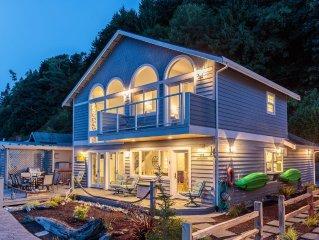 Waterfront Beach Cottage, sleeps 7