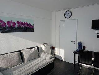 Kleines, feines Apartment, mitten in Düsseldorf Messe, Business, etc. WLan inkl.