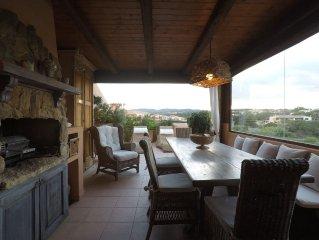 Romantico appartamento con vista mare sull'arcipelago della Maddalena.