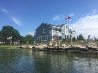 Harpswell Vacation Oceanfront Rental Home