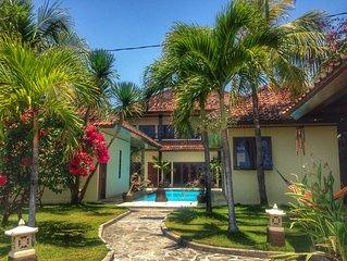 Beachfront Villa Peaceful Retreat in North Bali, DAILY BREAKFAST INCLUDED!