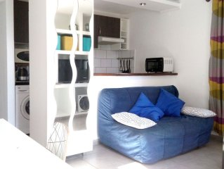 Apartment in a private House (quiet rural area), ideally to visit all Lanzarote