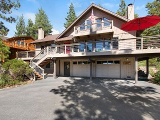 Northshore Tahoe Family Home with a View