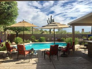 Golf And Sun Await In A Natural Sonoran Desert Setting With Heated Pool