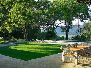 Private Wine Country Estate with Panoramic Views, Tennis Court - TOT Cert 450N