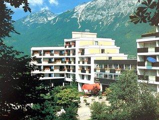2-Zimmer, Internet, 3 Betten, Bergblick und Garage