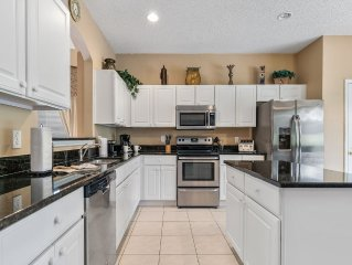 May2-11 & May18-27! Upgraded Kitchen,SunnyPool,Hot Tub,Open Backyard,Game RM,WiF
