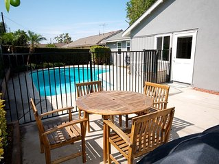 patio - BBQ, dining table, patio, even a Castle playhouse for the kids!