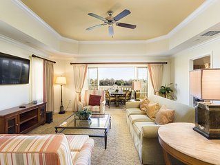 Third Floor Condo, Upgraded TV`s and Golf Course Views! Minutes to Disney!