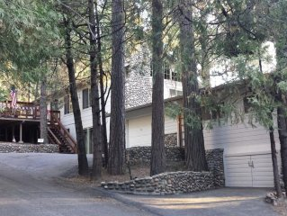 Bass Lake Paradise-Shelter in place with extended-stay reservations available.