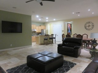 Open Floor Plan, Full Open Kitchen, Out Door Grill, Full Entertainment Back Yard