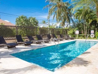 Windsong 2 Stunning Villa-4 UNIT COMPLEX-Boggy Sand Rd-gated access to SMB