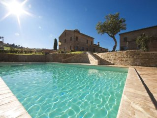 Luxury private villa, exclusive use, private pool, for groups and families