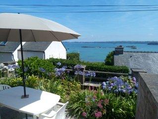 gîte 'Chez Tante Jeanne' face à la baie de Paimpol