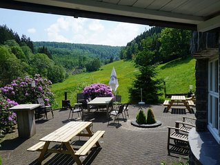Exclusive group house in Winterberg with common room, bar and large kitchen