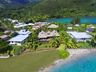 Blue Lagoon Moorea | 3 bedrooms Beachfront villa with a plunge pool
