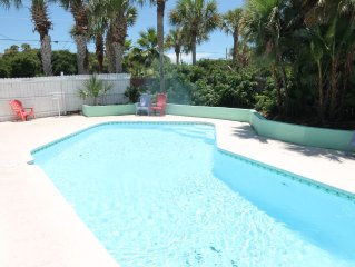 Atlantic Oasis Lower Unit, Pet Friendly, WIFI, Pool, Sleeps 6