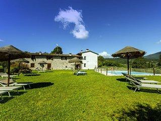 Garda Lake, nice residence with panorama pool