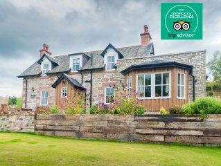 Scottish Country Cottages 'The Old Police House' Daviot, Inverness