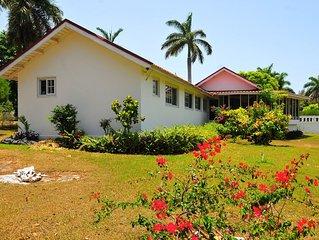 VILLA PATIENTLY WAITING - A DIAMOND LISTED RENTAL - A NORTH COAST JAMAICAN GEM