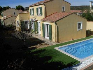 Belle maison avec piscine privée Narbonne Plage