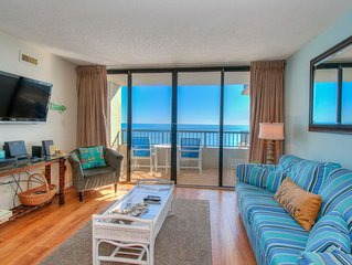 Two bedroom ocean front with large indoor pool!