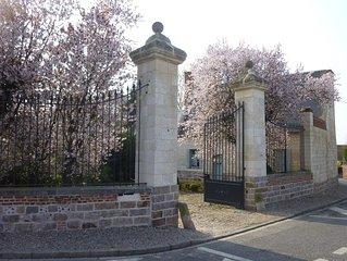 Etrun: gîte de l'Abbaye d'Etrun
