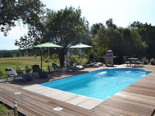 Country Retreat in the beautiful Lot et Garonne with swimming pool